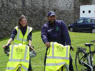 Carina & Phil Simmons An Post Heritage Cycle launch 12.05.13.jpg.opt309x231o0,0s309x231